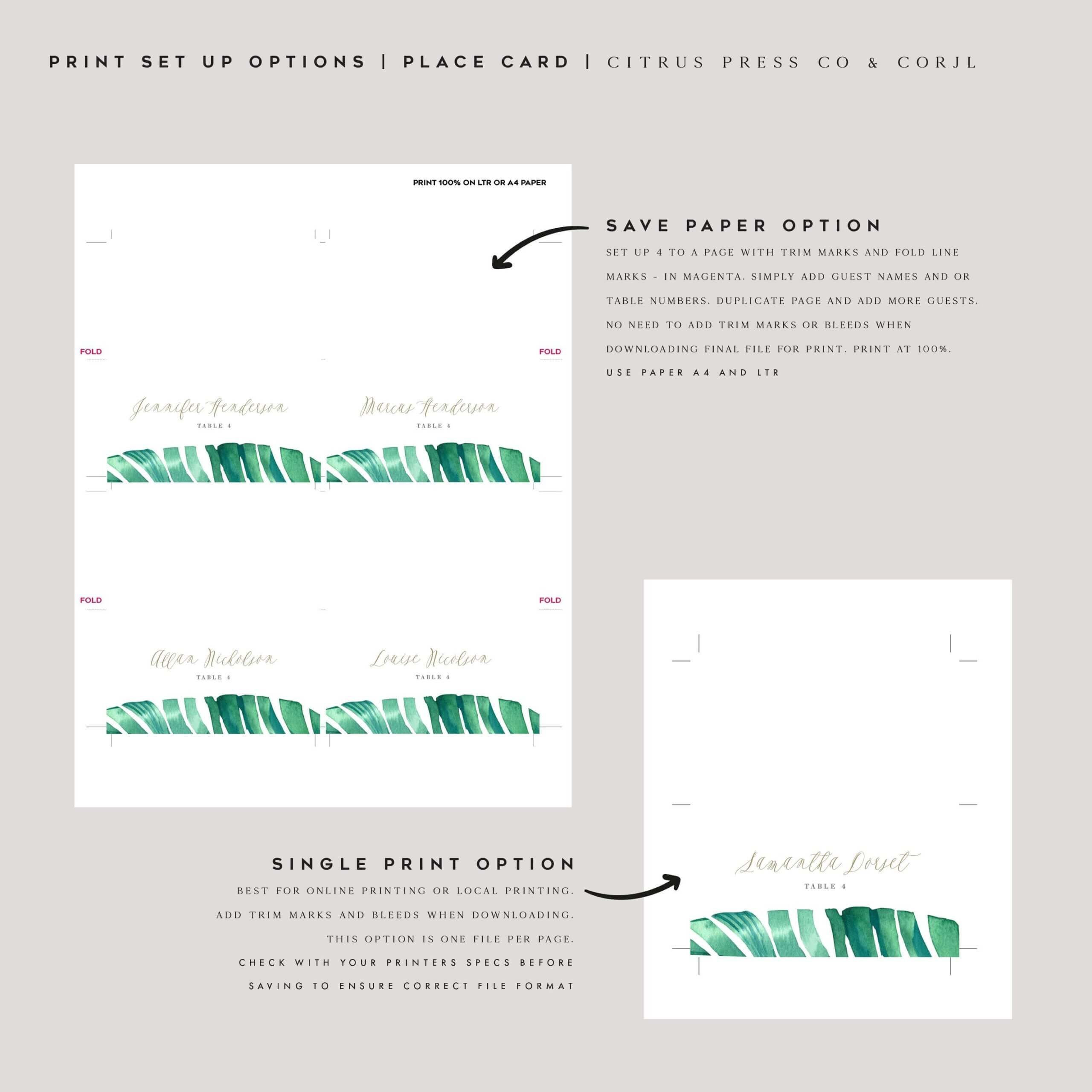 032 Template Ideas Corjl Place Card Wedding Editable Throughout Place Card Template 6 Per Sheet
