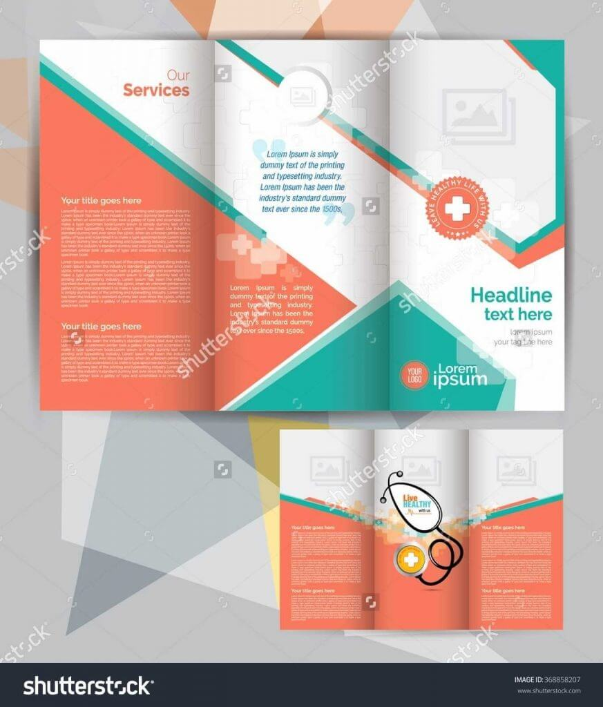 033 Free Brochure Templates Design Download For Word Tri In Word 2013 Brochure Template