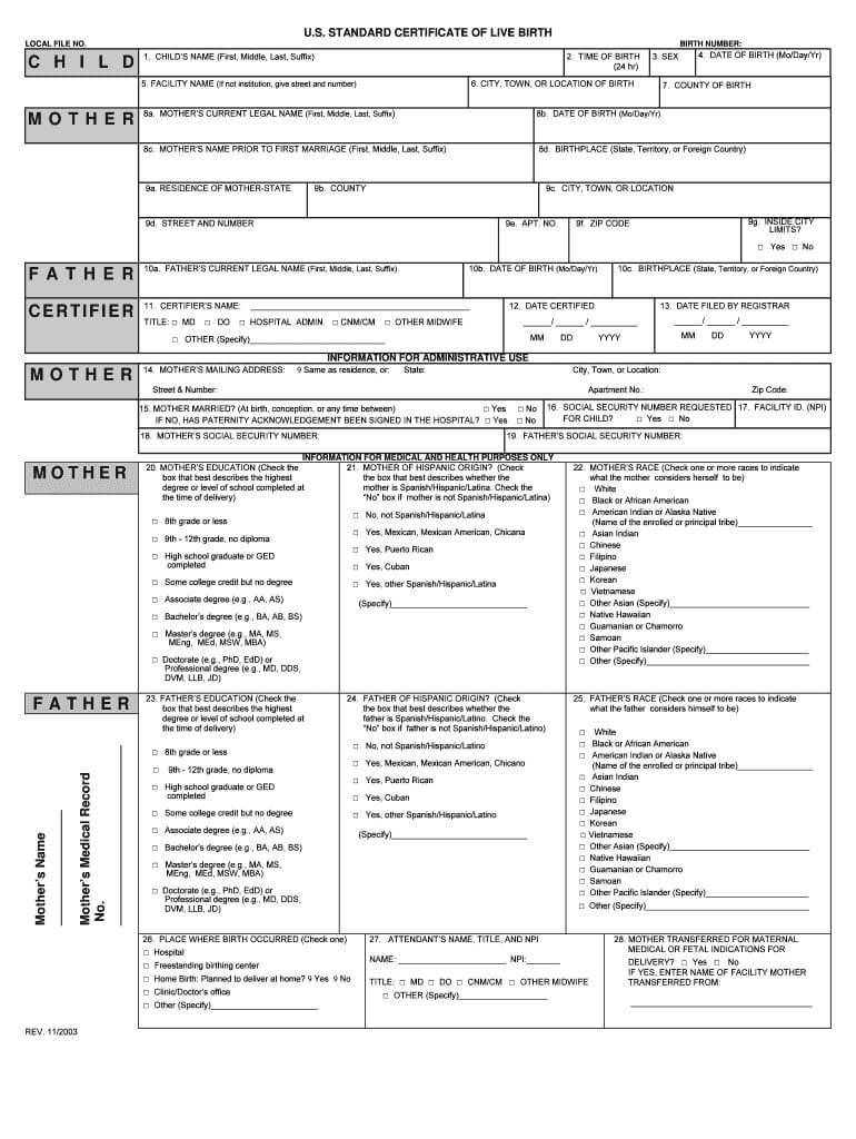033 Large Free Birth Certificate Template Impressive Ideas Within Mexican Marriage Certificate Translation Template