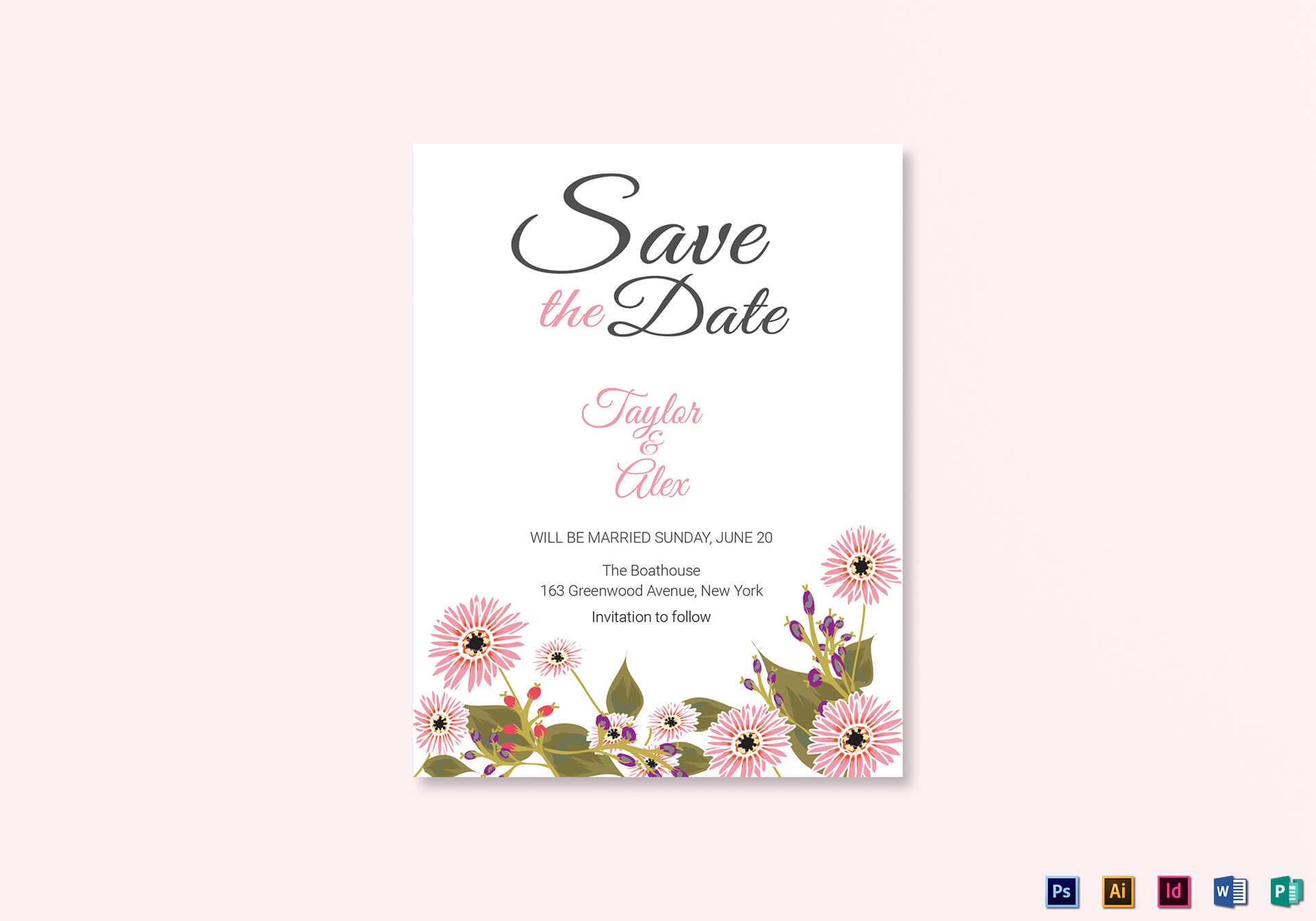 033 Template Ideas Save The Date Remarkable Word Invitation With Save The Date Template Word