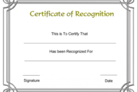 034 Free Printable Certificate Templates Template Ideas regarding Printable Certificate Of Recognition Templates Free