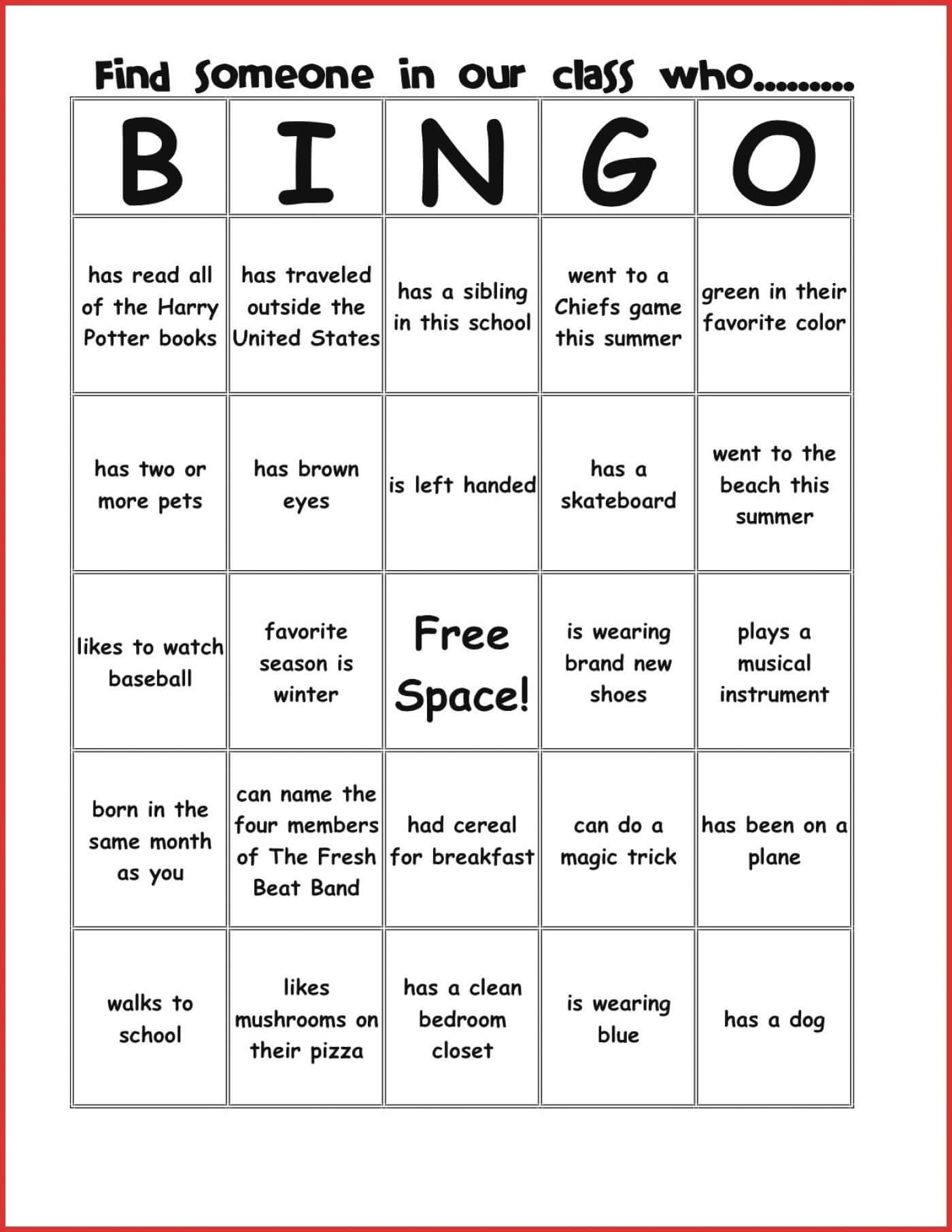 034 Template Ideas Blank Bingo Card Stirring 4X4 Excel For Ice Breaker Bingo Card Template
