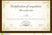 035 Free Printable Perfect Attendance Certificate Template within Perfect Attendance Certificate Free Template