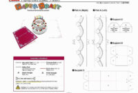 035 Pop Up Cards Templates Canon Papercraft Card Box pertaining to Pop Up Card Box Template