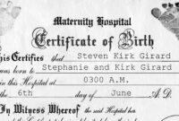 036 Birth Certificate Template Word Blank Mockup Rare Ideas in Baby Doll Birth Certificate Template