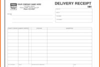 036 Free Delivery Receipt Template Word Ideas Proof Of throughout Proof Of Delivery Template Word