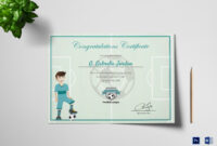 038 Free Printable Soccer Certificate Templates Award Maker in Sports Award Certificate Template Word