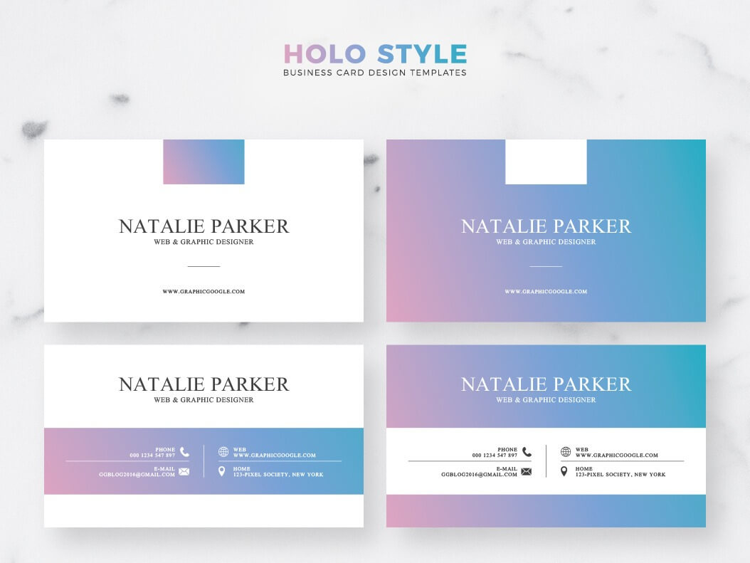 039 Business Card Template Ai Ideas Holo Style Incredible Intended For Adobe Illustrator Business Card Template