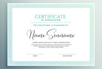 039 Certificate Of Appreciation Template Word Doc Free Ideas within Certificate Of Appreciation Template Free Printable