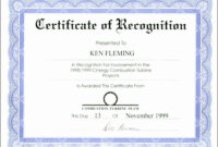 040 Certificate Of Recognition Template Word Marvelous for Certificate Of Recognition Word Template