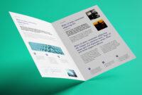 040 Fold Brochure Template Free Download Psd Bi Mockup Good with regard to 2 Fold Brochure Template Free