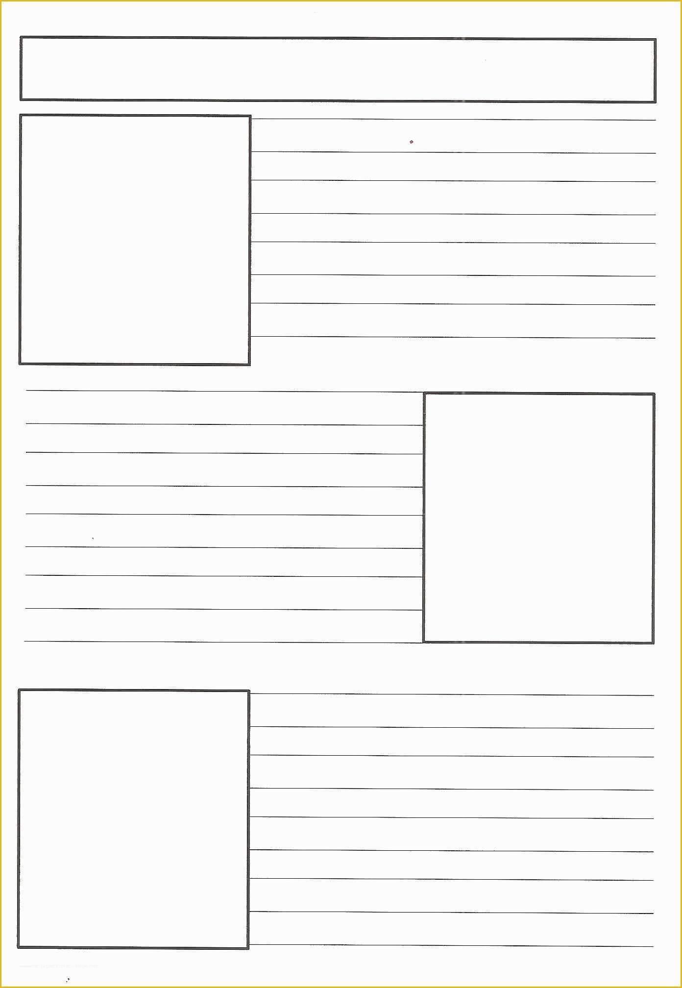 041 Template Ideas Free Printable Newspaper Templates For Within Blank Newspaper Template For Word