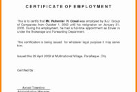 042 Online Certificates For Jobs Fresh Job Fer Letter Format intended for Template Of Certificate Of Employment