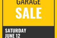 045 Yard Sale Flyer Template Microsoft Word Simple Garage for Yard Sale Flyer Template Word