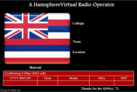 05 | November | 2012 | Kd0Pnp Ham Radio intended for Qsl Card Template