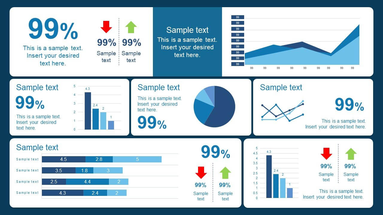 10 Best Dashboard Templates For Powerpoint Presentations Intended For Powerpoint Dashboard Template Free
