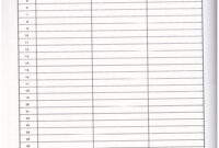 10 Best Images Of Printable Blank Charts With Columns 4 3 in 3 Column Word Template