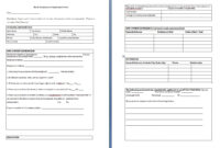 10+ Job Application Form Sample Format | Ledger-Paper with Job Application Template Word
