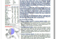 10 Powerful Golden Rules To Write Equity Research Report inside Stock Analyst Report Template