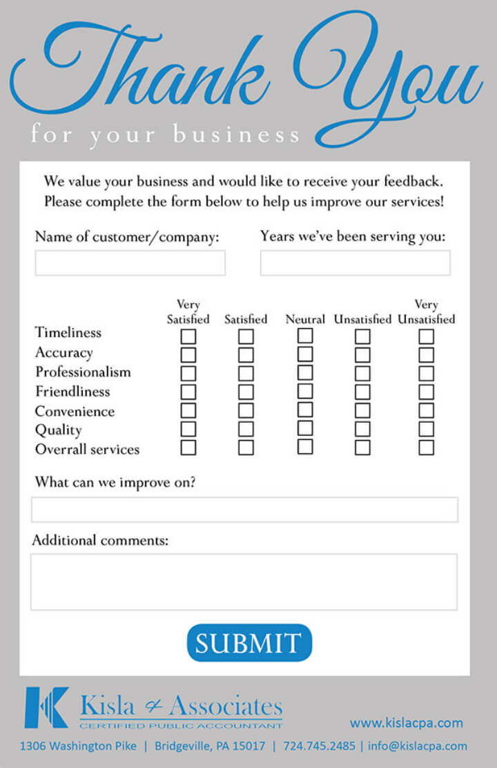 10+ Restaurant Customer Comment Card Templates & Designs In Restaurant Comment Card Template