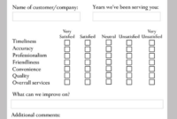 10+ Restaurant Customer Comment Card Templates & Designs regarding Comment Cards Template