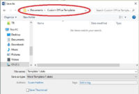 10 Things: How To Use Word Templates Effectively – Techrepublic in What Is A Template In Word