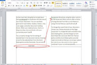 10 Tips For Working With Word Columns – Techrepublic throughout 3 Column Word Template