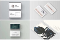 10 Unique Business Card Templates To Stand Out From The intended for Generic Business Card Template