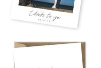 10 Wording Examples For Your Wedding Thank You Cards in Template For Wedding Thank You Cards