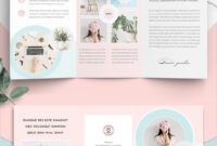 100 Best Indesign Brochure Templates inside Country Brochure Template