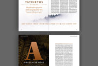 100 Best Indesign Brochure Templates regarding Membership Brochure Template