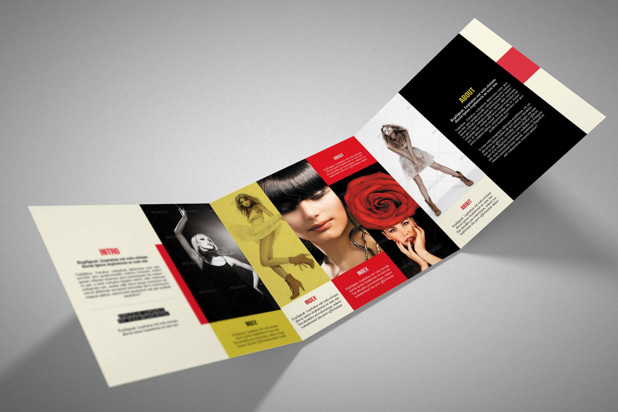 100 Best Indesign Brochure Templates With Regard To Adobe Indesign Tri Fold Brochure Template