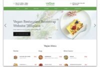 100+ Free Bootstrap Html5 Templates For Responsive Sites inside Blank Food Web Template