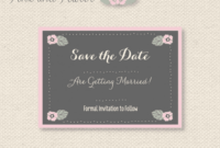 11 Free Save The Date Templates for Save The Date Powerpoint Template