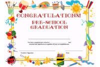 11+ Preschool Certificate Templates – Pdf | Free & Premium inside Free School Certificate Templates