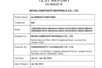 11+ [ Test Summary Report Template Ieee 829 ] | Sample regarding Test Summary Report Template