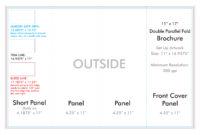 "11"" X 17"" Double Parallel Brochure Template – U.s. Press for 11X17 Brochure Template"