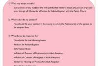 12+ Adoption Paper Templates – Pdf | Free & Premium Templates within Child Adoption Certificate Template