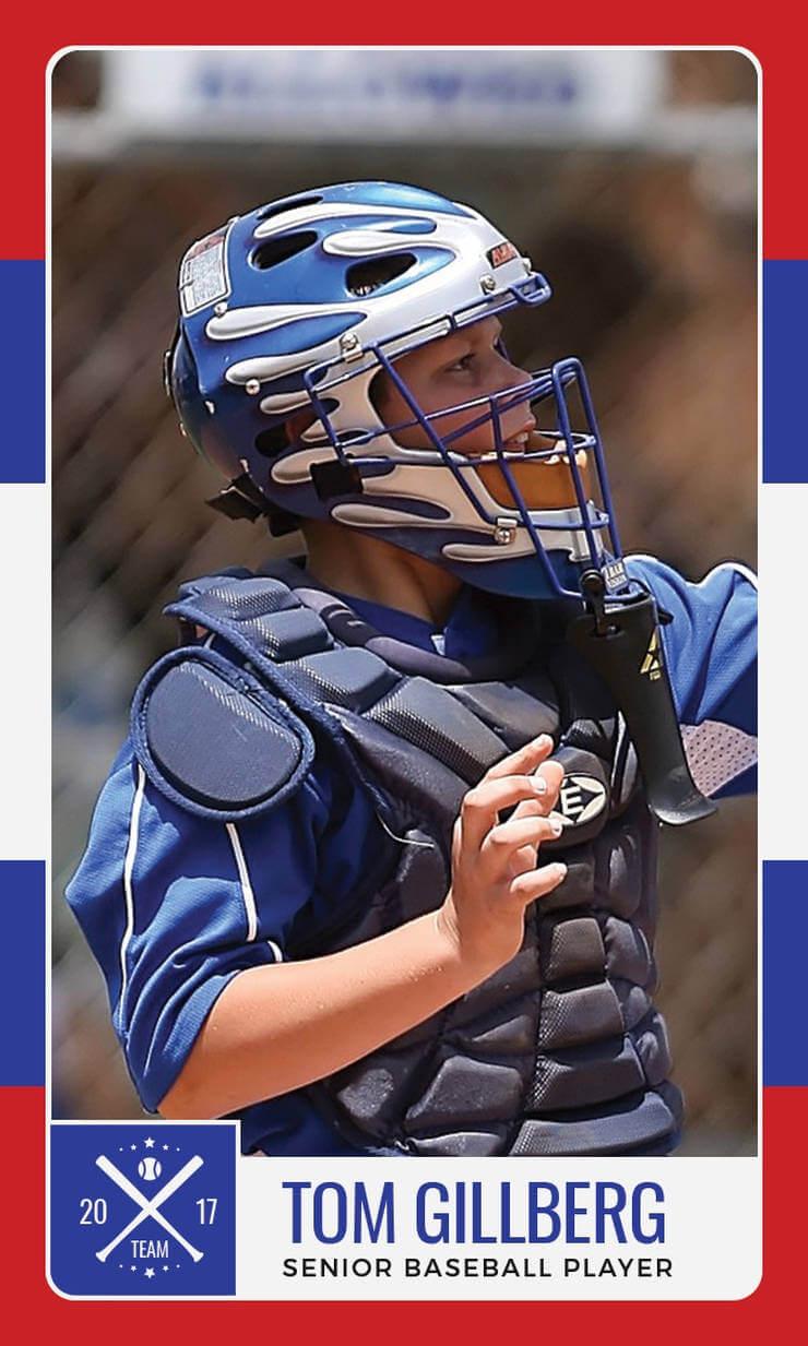 12+ Baseball Trading Card Designs & Templates - Psd, Ai In Baseball Card Template Psd