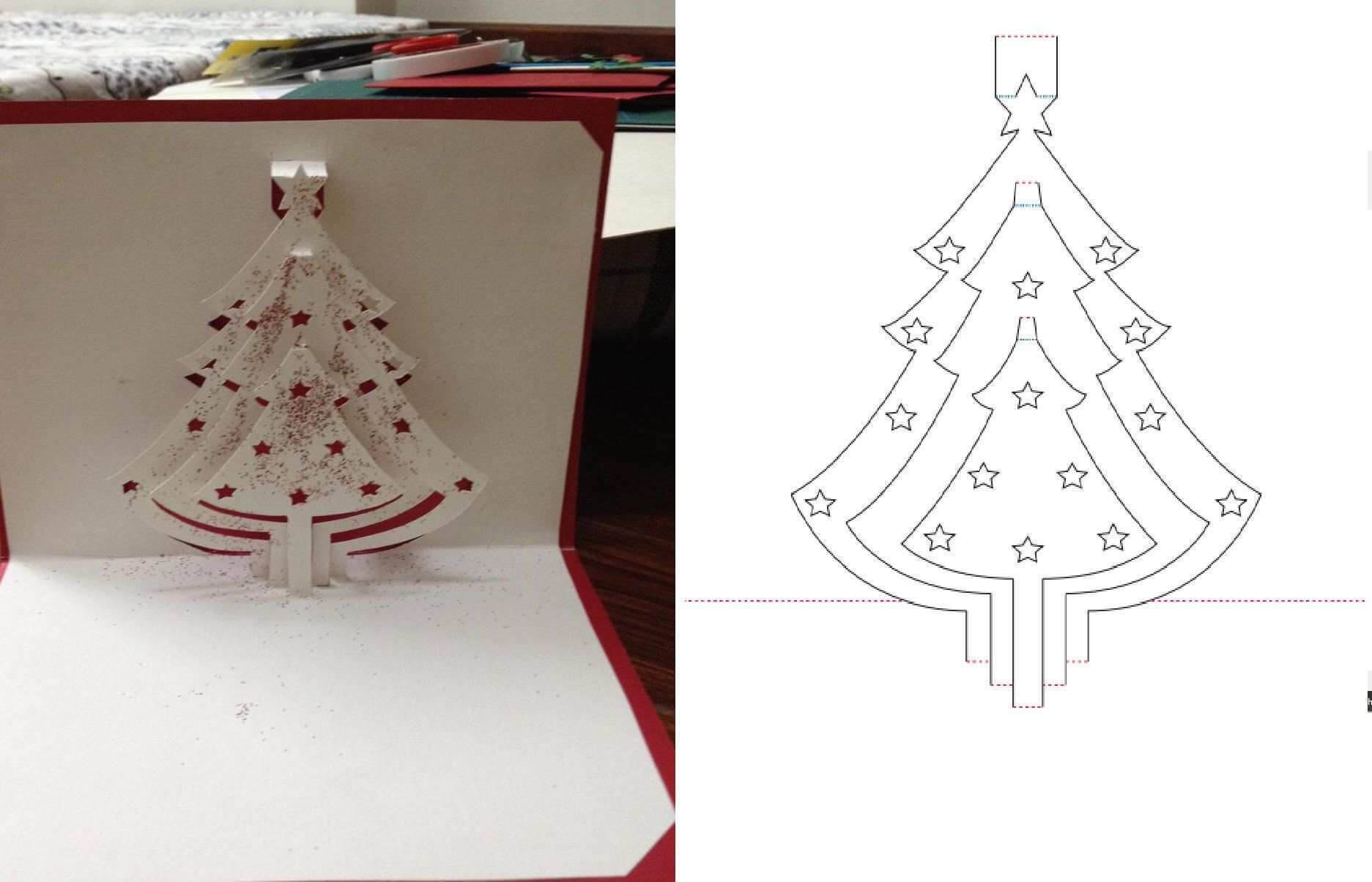 12 Create Pop Up Card Templates Christmas Tree For Pop Up With Regard To Pop Up Tree Card Template