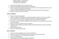 12+ Harassment Investigation Checklist Examples – Pdf regarding Sexual Harassment Investigation Report Template