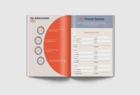 13+ Annual Report Design Examples & Ideas – Daily Design with Summary Annual Report Template