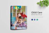 14+ Child Care Brochure Designs & Templates | Free & Premium within Daycare Brochure Template