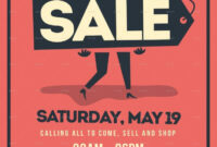 14+ Garage Sale Flyer Designs & Templates – Psd, Ai   Free inside Garage Sale Flyer Template Word