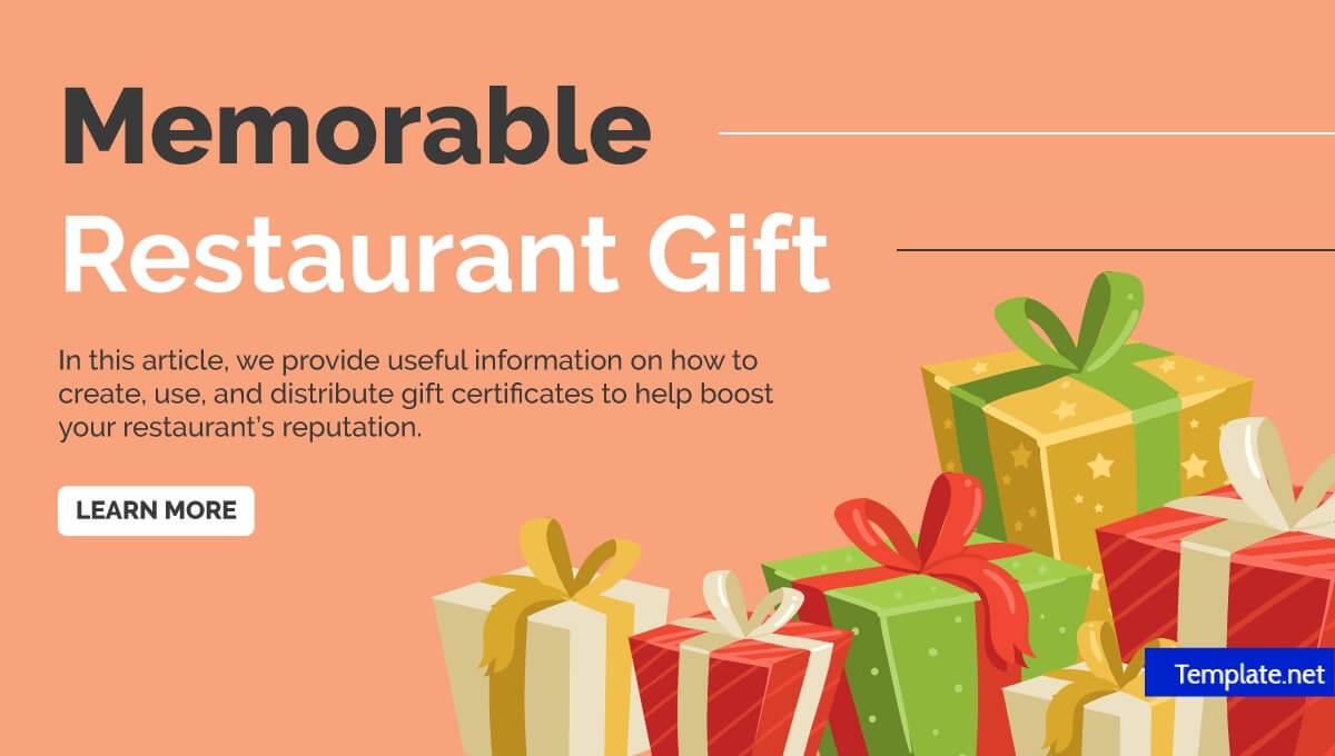 14+ Restaurant Gift Certificates | Free & Premium Templates Inside Restaurant Gift Certificate Template
