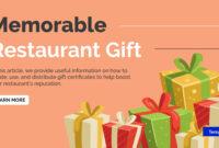 14+ Restaurant Gift Certificates | Free & Premium Templates with Indesign Gift Certificate Template