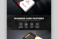 15+ Best Free Photoshop Psd Business Card Templates in Photoshop Cs6 Business Card Template