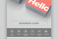 15+ Best Free Photoshop Psd Business Card Templates with regard to Visiting Card Templates For Photoshop