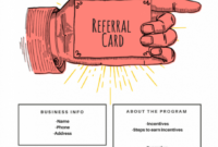 15 Examples Of Referral Card Ideas And Quotes That Work pertaining to Referral Card Template