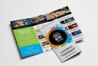15 Free Tri-Fold Brochure Templates In Psd & Vector – Brandpacks for Brochure Templates Adobe Illustrator